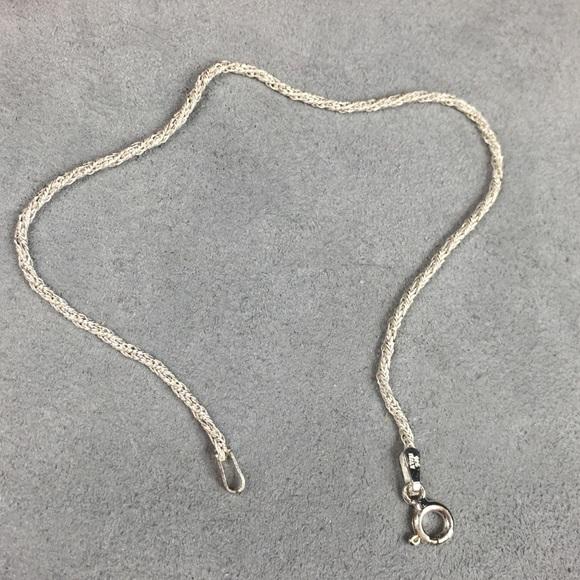 Vintage Jewelry - Sterling Silver Chain Bracelet